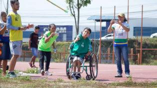 Mais de 160 alunos participam do Festival Paralímpico Brasileiro em Manaus