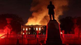 Incêndio no Rio é a maior tragédia museológica do País