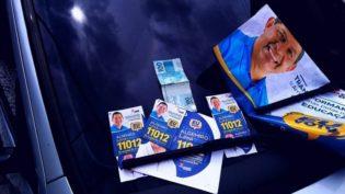 TRE manda Facebook excluir mensagem com fotos de candidato e nota de R$ 100