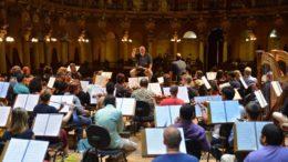 Concerto terá regência do maestro Luiz Fernando Malheiro e solo de flauta transversal com o músico Diogo Navia (Foto: SEC/Divulgação)