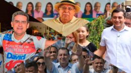 Amazonino, David Almeida, Wilson Lima, Omar Aziz