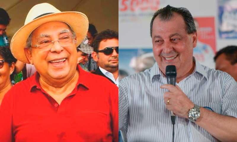 Amazonino Mendes e Omar Aziz