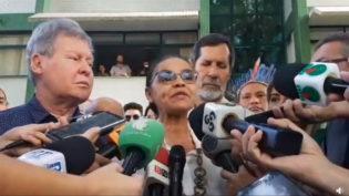 'Geraldo Alckmin não serve para dirigir o país', diz Arthur na presença de Marina