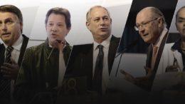 Bolsonaro lidera com Haddad em segundo em pesquisa de intenção de voto da CNI/Ibope (Foto: CNI/Divulgação)