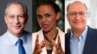 Candidatos empatados tecnicamente defendem voto útil contra extremos