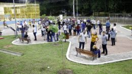 Parque Rio Xingu foi revitalizado em parceria público privada (Foto: Mário Oliveira/Semcom)