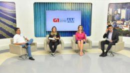 Davia Almeida na TV Amazonas