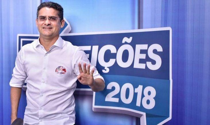 Vídeo no WhatsApp relaciona David Almeida ao ex-governador José Melo e foi julgado ofensivo pela Justiça (Foto: Facebook/Reprodução)