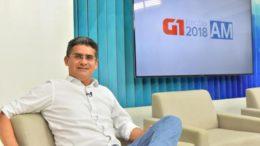 David Almeida na TV Amazonas