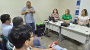Surdos apresentaram reclamação à juíza da propaganda eleitoral (Foto: Aguillar Abecassis/Secom)
