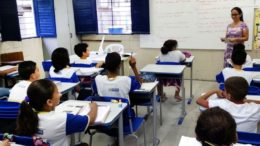 Desempenho dos estudantes das escolas públicas pode ser acessado na internet pela nota do Ideb (Foto: Sumaia Vilela/ABr)