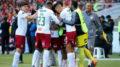 Jogadores do Fluminense festejam gol e vitória pela Copa Sul-Americana (Foto: Lucas Merçon/FFC)