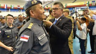 Secretários reúnem policiais do Amazonas para festejar promoção de carreira