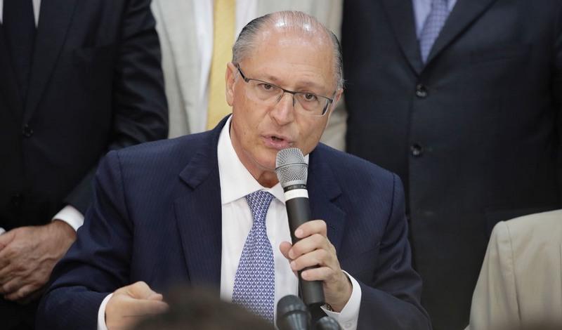 Geraldo Alckmin promete criar programa para subsidiar metade do preço do gás de cozinha para a baixa renda (Foto: PSDB/Divulgação)