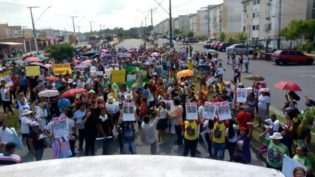 Grito dos Excluídos em Manaus prega o 'não voto' em parlamentares
