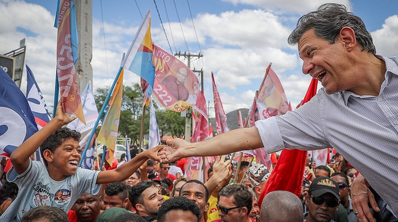 Fernando Haddad fez promessas para eleitorado em Manaus e evitou polemizar com Bolsonaro Foto: Ricardo Stuckert-PT)