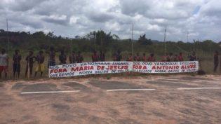 Yanomamis impedem saída de profissionais de saúde em aldeia de Roraima