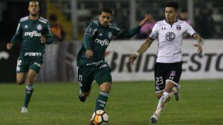 Palmeiras garante vantagem de um gol sobre o Colo-Colo pela Libertadores