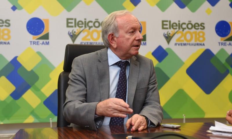 João Simões, presidente do TRE-AM