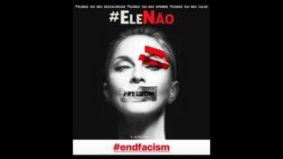 Madonna entra em campanha contra Jair Bolsonaro