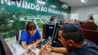 Atendimento no Manaus Atende é suspenso após furto de fiação elétrica