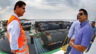Governo do Amazonas importa de Minas Gerais 3 mil toneladas de cimento asfáltico