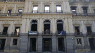 Obras de contenção no Museu Nacional devem começar nesta segunda