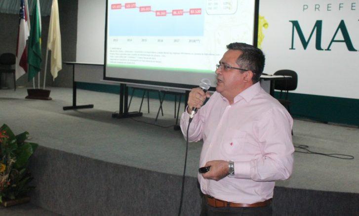 Secretário de Finanças Lourival Praia informou que arrecadação dos impostos ISS e IPTU deverá crescer em 2019 (Foto Semef/Divulgação)