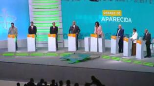 Em debate, presidenciáveis apelam para voto contra extremos