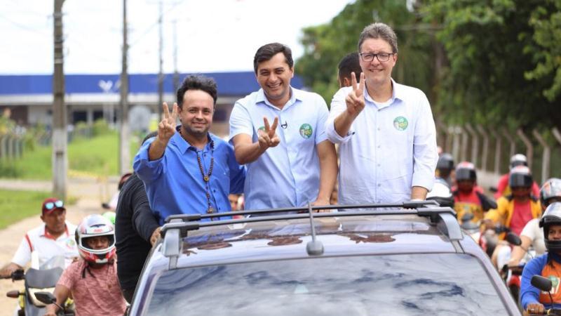 Wilson Lima e Luiz Castro