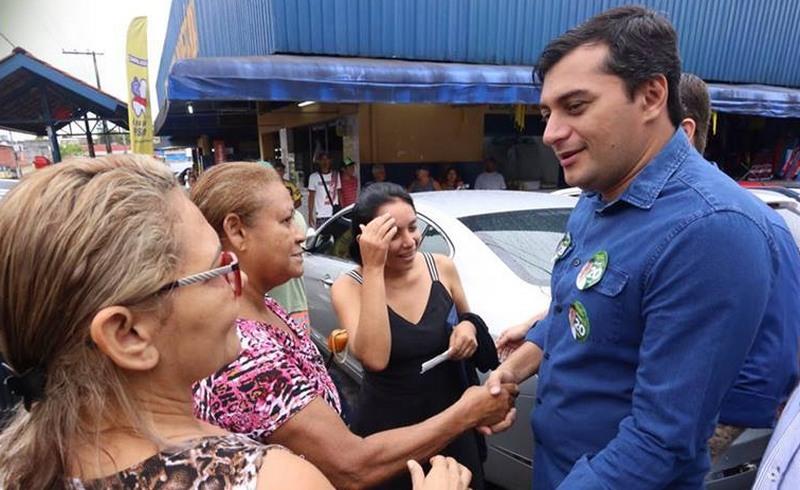 Wilson Lima defende incentivo fiscal para empresas que empregarem jovens e mulheres chefes de família (Foto: Facebook/Reprodução)