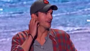 Após ser atropelado por Ashton Kutcher, jovem pede foto com ator