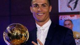 Cristiano Ronaldo foi premiado cinco vezes com a Bola de Ouro (Foto: Instagram/Reprodução)