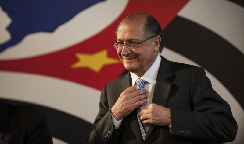 Geraldo Alckmin está com 8% das intenções de voto, ficando em 4º lugar na pesquisa do Ibope (Foto: PSDB/Divulgação)
