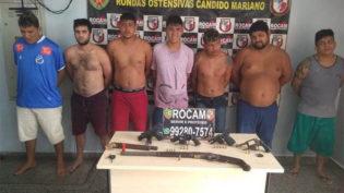 Líder de facção e outros seis homens são presos suspeitos de chacina na Compensa