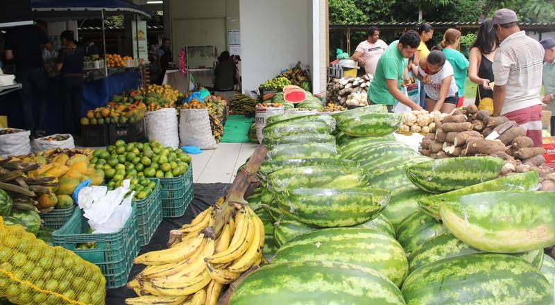 Além de frutas de legumes, feira da Ufam terá pirarucu fresco de áreas de manejo ambiental (Foto: Ufam/Divulgação)