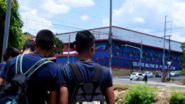 Alunos do Colégio da Polícia Militar do Amazonas têm gratuidade em matrícula e rematrícula (Foto: Chico Batata/TJAM)