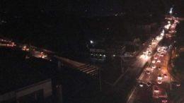 Apagão afetou Manaus nessa quinta-feira à noite por quase quatro horas (Foto: Facebook/Reprodução)