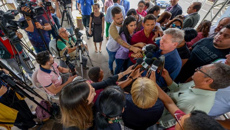 Prefeito Arthur Neto volta a criticar PSDB e revela que pretende deixar a legenda caso não ocorra reformulação (Foto: Alex Pazuello/Semcom)