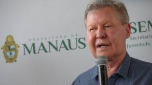 Prefeito Arthur Neto revela que votará em Wilson Lima para governador