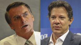 Presidente Jair Bolsonaro rebateu críticas de Fernando Haddad pelas redes sociais (Foto: Reprodução)