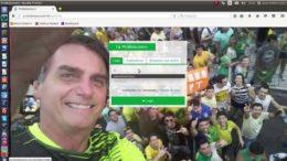 Página em rede social de apoio a Bolsonaro: candidato tem 28 homes de engajamento (Foto: Divulgação)
