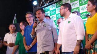 Wilson Lima desconversa sobre tática para enfrentar Amazonino no 2º turno