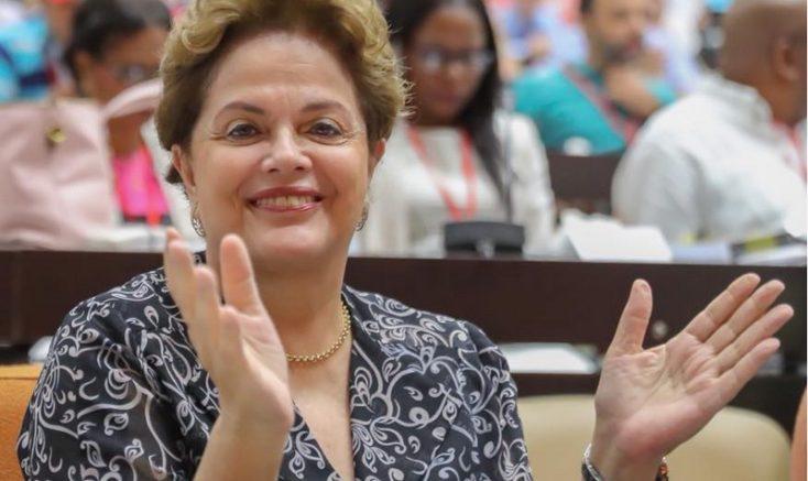 Ex-presidente Dilma Rousseff concorre ao cargo de senadora pelo PT de Minas Gerais (Foto: Facebook/Reprodução)