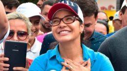 Mayara Pinheiro foi a candidata mais votada para deputado estadual. Ela é filha do ex-prefeito de Coari (AM) Adail Pinheiro (Foto: Facebook/Reprodução)
