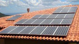 Projetos da Afeam financiam produção de energia solar no Amazonas (Foto: IBDA/Divulgação)