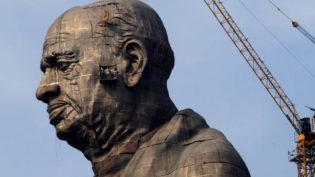 Índia constrói a estátua mais alta do mundo ao custo de R$ 1,5 bilhão