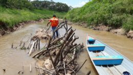 Vazante afeta 76 comunidades por falta de água potável (Foto: Divulgação)