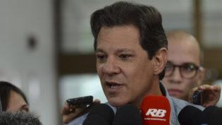 Haddad afirma que o Brasil pode crescer com governo liberal de Bolsonaro