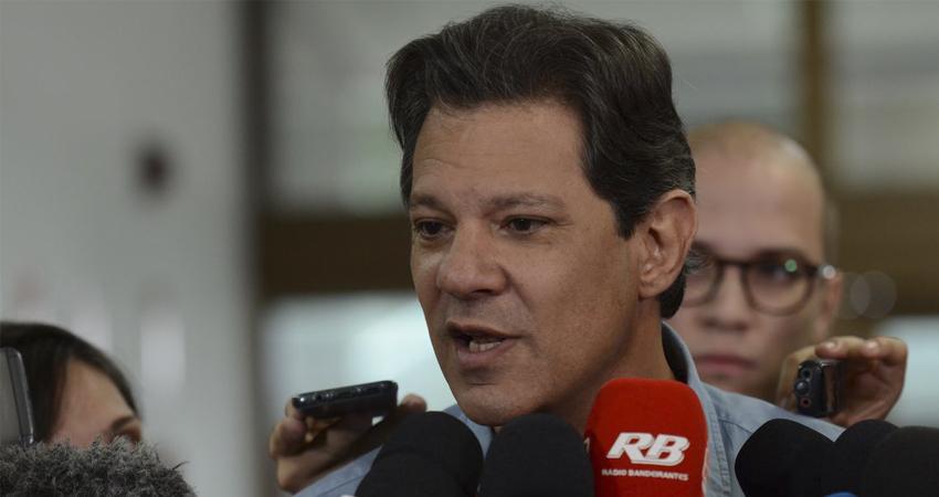 Fernando Haddad em evento no RJ